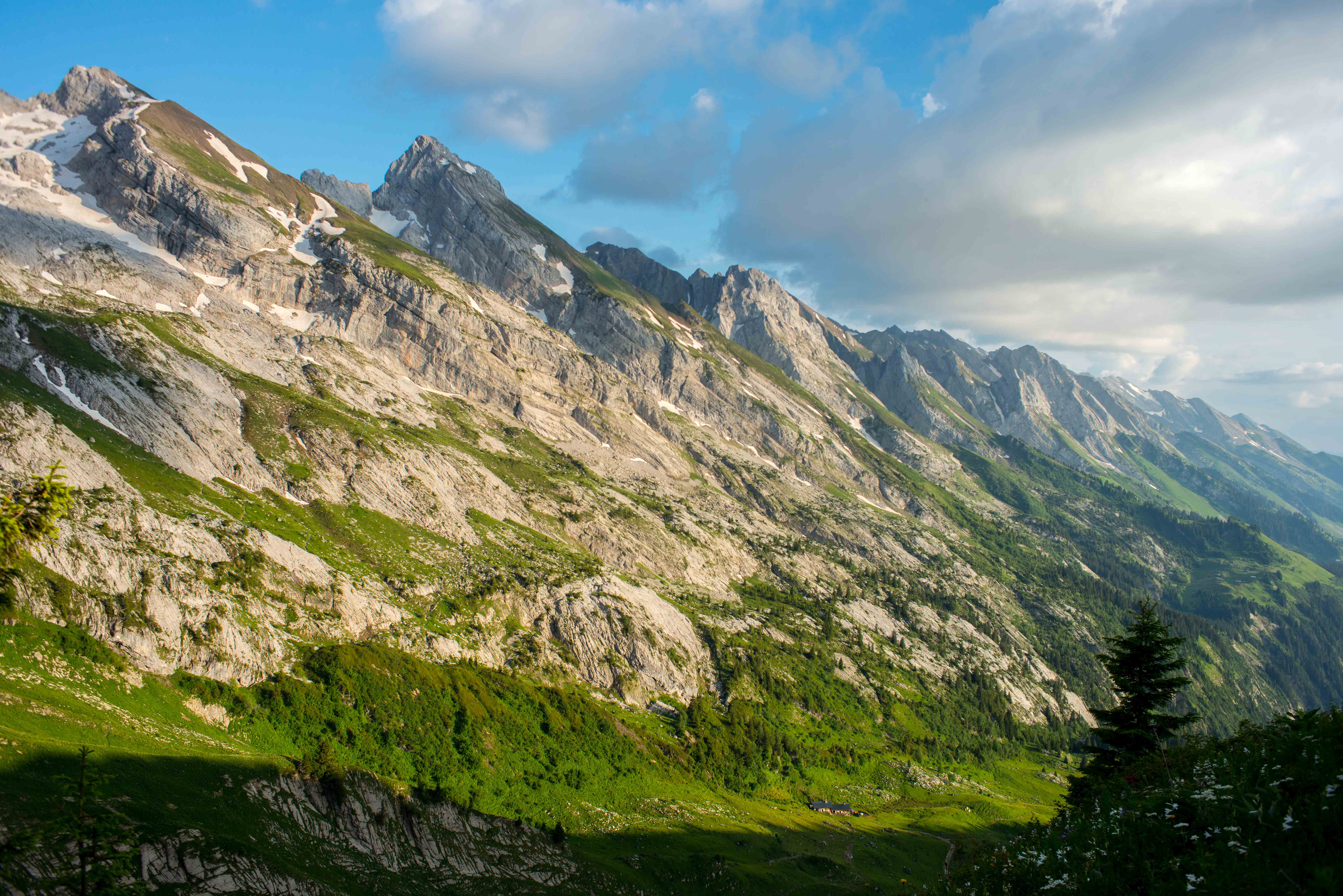 West side of the Aravis, June 2014
